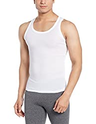 Force NXT Mens Cotton Vest (8902889608914_MNFR-236_Large_White)