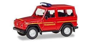 Herpa 093170Mercedes-Benz G de Modelo Bomberos Uso línea Miniatura Vehículo