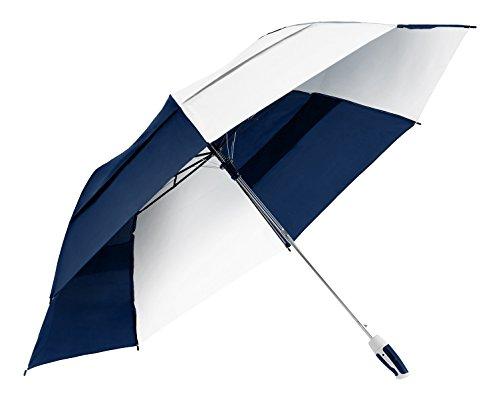 shedrain-2010-navywhite-windjammer-vented-auto-open-jumbo-compact-golf-umbrella-58-inch-arc