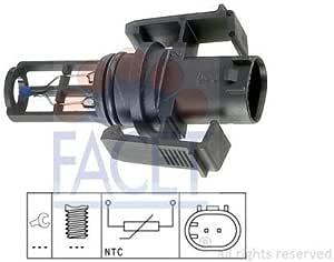 Facet 10 4014 Sensor Ansauglufttemperatur Auto