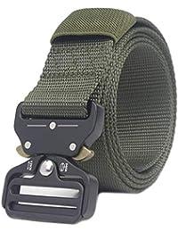 Sport Sicherheit Taille Unterstützung Beliebte Marke Airsoft Militärische Taktische Gürtel Unisex Durable Leinwand Material Jagd Outdoor Utility Verstellbarer Bund 120 Cm