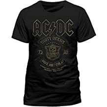 AC/DC AC/DC - BLACK DONE CHEAP - Camiseta manga corta para hombre