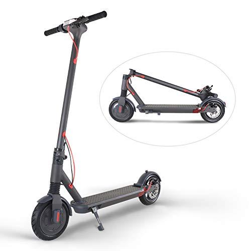 Windgoo Trottinette Electrique, Scooter Urbain Pliant, Vitesse Max 20km/h, 8.5' Pneus Antidérapant, 25km Autonomie Batterie, pour Ados et Adulte