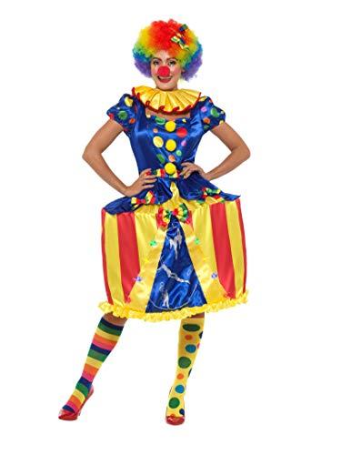SMIFFY 'S 47437l Deluxe Light Up Karussell, Clown Kostüm, Damen, Mehrfarbig, Large, UK ()