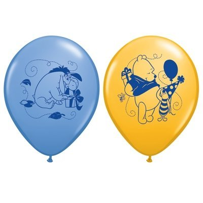 Costumes 205009 Winnie l'Ourson Joyeux anniversaire ballons en latex