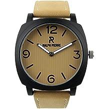 Ralph Pierre Actif Analog Brown Dial Men's Watch - W40077-2