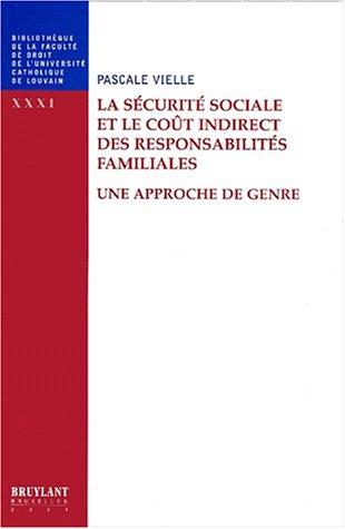 Le coût indirect des responsabilités familiales