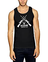 Hunting Club Camiseta De Tirantes Negro Certified Freak
