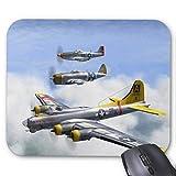 B-17 P-47 P-51 Mousepad