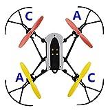 Fantasyworld EIN Satz Propeller Blade-Mini-Drohnen für Parrot Mambo UAV Parts