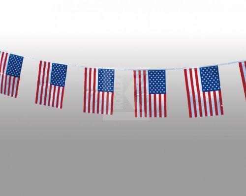 Kogler 1Stück USA Wetter Proof Flagge Banner in Tasche, Blau/Weiß/Rot, 400x 30x 30cm (Usa-flagge Dekorationen)