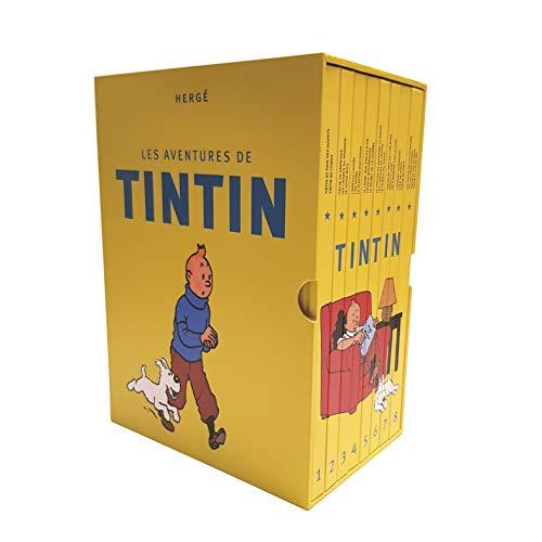 Coffret integrale Tintin en 8 volumes