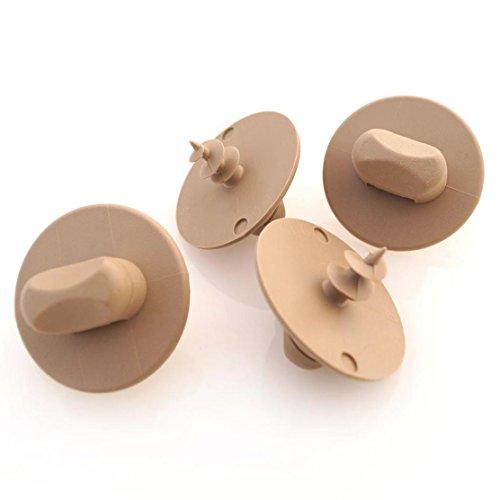 kh Teile Fußmatten Halter Drehknebel Befestigung beige/oval