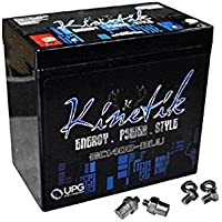 Kinetik HC1400R BLU 1400W 12V Reverse Polarity High Current AGM Car Audio Battery Power Cell (BLU Series) - ukpricecomparsion.eu