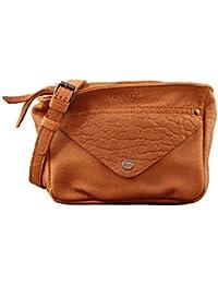 LE GAVROCHE Sable petit sac bandoulière en cuir souple façon Bubble style Vintage PAUL MARIUS