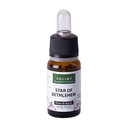 fiori di bach - star of bethlehem 10 ml - rimedio naturale analcolico indicato per la mente, l'emotività e lo stress - prodotto erboristico made in italy