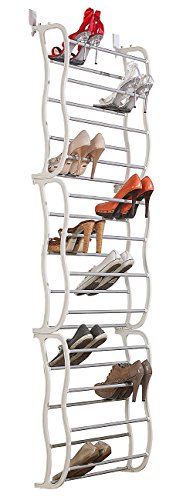 infactory Schuhschrank: Schuhregal für die Tür, Platz für 36 Paar Schuhe (Schuhregal Tür innen)