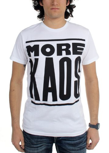 Diesel Man T-Shirt T-KAOS White