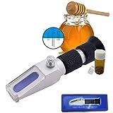 Alta Qualità Ottica 58-90%% Brix Miele Rifrattometro Tester