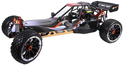 Amewi 22060 - Buggy Pitbull X M 1:5, 30 cm, 2.4 GHz, 2WD - Gas-rc-car Motoren