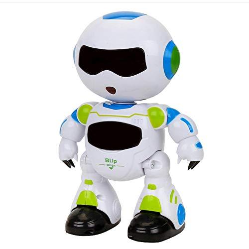 Sroomcla Smart Remote Control Robot, Smart Dancing/Light/Music/Walking/Agitatatoren für Kinder - Walking-spielzeug-roboter