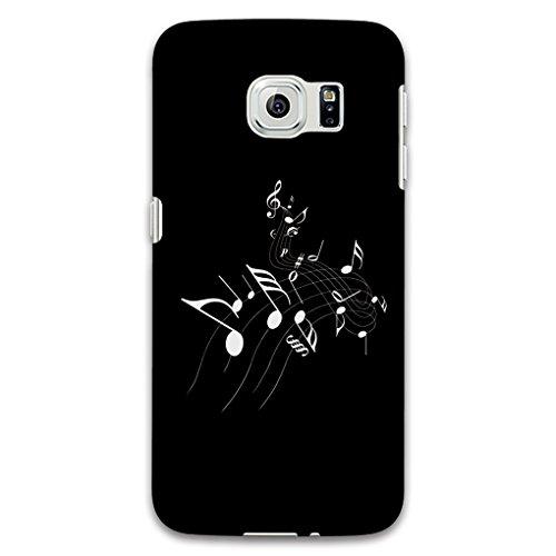 SEAWOOD Musical Note Back Schutzhülle für Iphone 67Plus Samsung Galaxy S6S7Note Edge