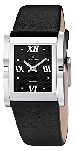 Candino Unisex-Adult Analogue Classic Quartz Watch with Leather Strap C4468/3