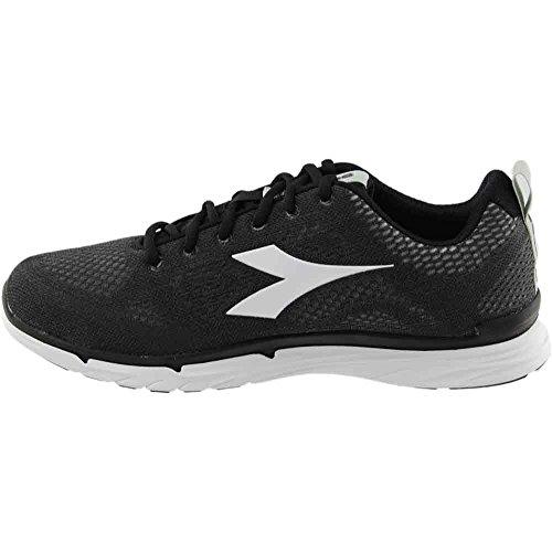 Corsa Nero Diadora Scarpe Scarpe Da Jogging Nj Fare Trama Nere Superwhite Uomo Sneaker 303 1xRqq4twH