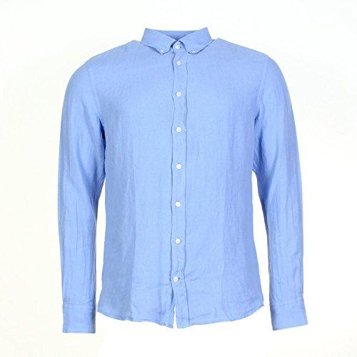 Schoffel GMT Dye Linen Mens Shirt blue