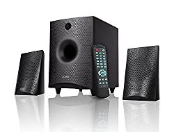 F&D F210X 2.1 Channel Multimedia Bluetooth Speakers (Black)with mouse pad