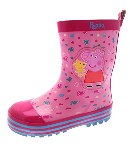 Peppa Pig Girls Rubber Wellington Boots