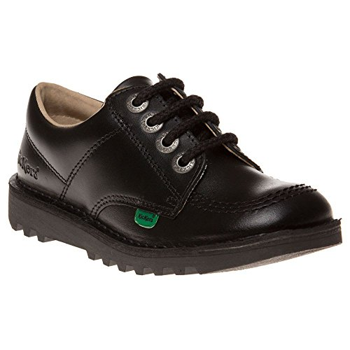 Kickers Kick Lo J Core Shoes Black 2.5 Child UK