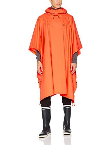 Fjällräven Poncho Mit Kapuze, orange (Safety Orange), Einheitsgröße (Safety Jacke Orange)