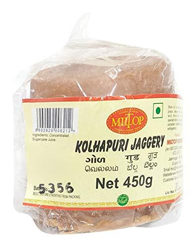 Miltop Kolhapuri Jaggery, 450g