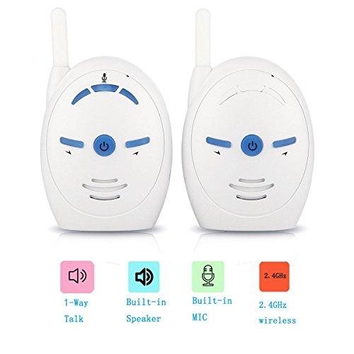 VOSMEP 2017 Nuovo Baby Monitor 2.4Ghz Safe & Sound Digital Audio Babyphone BM016