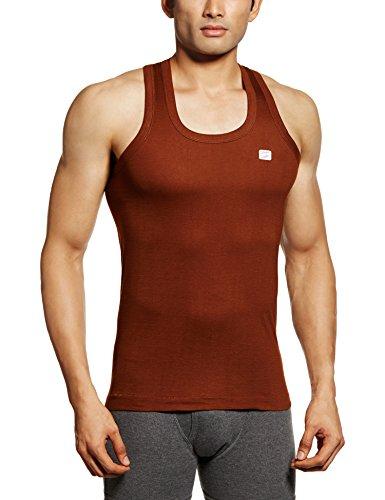 RUPA Frontline Men's Cotton Vest (890397845106 (FRONTLINE-Chocolate-85)