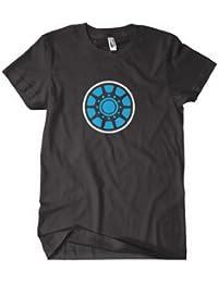 Iron Man T shirt - Tony Stark Unibeam in Black