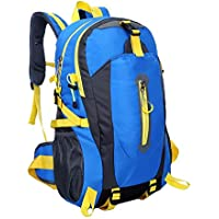 Bolsa de escalada al aire libre Bolsa impermeable de viaje resistente al rayado Senderismo Hombro Mochila deportiva Unisex con paquete de cintura