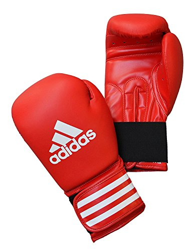 Adidas Performer Boxhandschuhe, Rot/Weiß-283g, 340g, 397g, 454g, 510g, ADIBC01/R, 453,6 g (16 oz) - Reebok 510