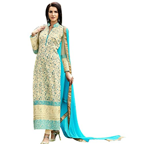 Ethnic Bollywood Pakistani Straight Shalwar Salwar Kameez Suit Wedding Eid Muslim Women...