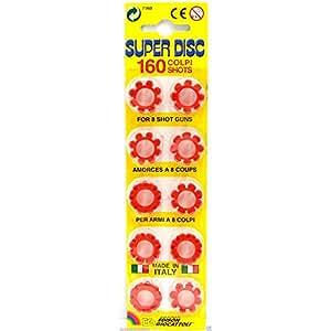 96 Shots Each For Cap Toy Gun 12 rings per pkg LOT OF 2 SUPER BANG RING CAPS