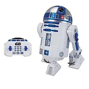 Star Wars Droide Robot Interattivo Radiocontrollato R2-D2 45Cm Con Luci E Suoni