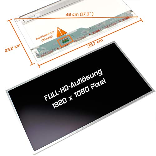 "Laptiptop 17,3"" LED Display Screen matt Ersatz für Acer Aspire E17 E5-771-323D 1920x1080 Bildschirm Panel"