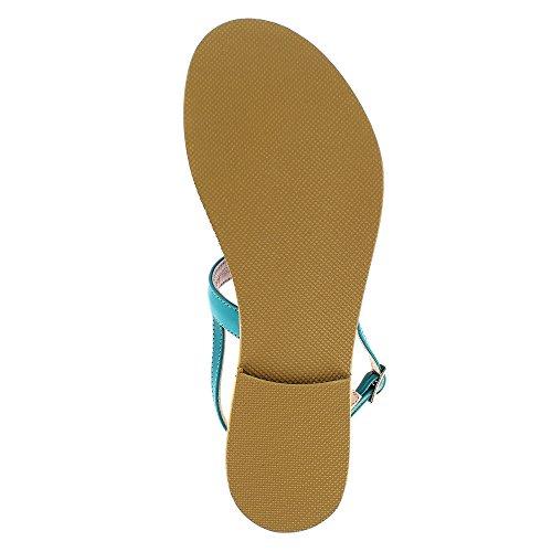 Evita Shoes  Greta, Sandales pour femme Petrol