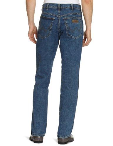 Wrangler Men's TEXAS STRETCH STONEWASH Straight Jeans, Blue (Darkstone, Mild Blue), W42/L32 (Manufacturer Size: W42/L32)