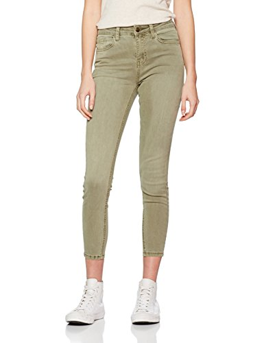 New Look Kelly, Jeans Donna Green (Dark Khaki)