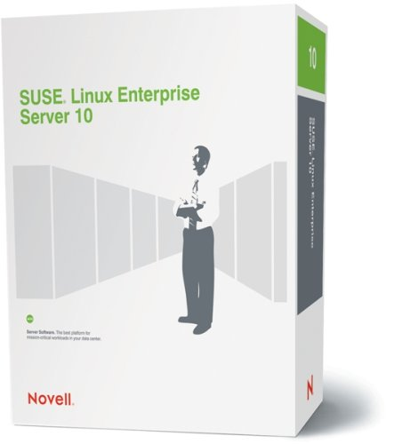 SUSE LINUX Enterprise Server 10 for X86 and for AMD64 & Intel EM64T Bundle Strong Encryption (128+ bit) (Maximum 32 CPU) 3-Year English and German (Em64t Intel)