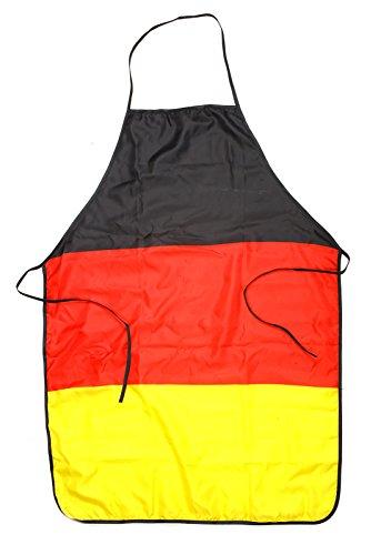 Preis am Stiel 1 x Schürze ''Deutschland'' | Geschenk für Männer | Fanartikel | Küchenschürze für Kinder | Grillschürze lustig | Fahnen & Flaggen | Geschenk für Frauen | Kochschürze für Damen