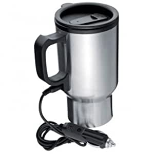 Edelstahl thermobecher f r 12 v anschluss isolierbecher - Taza termica para cafe ...