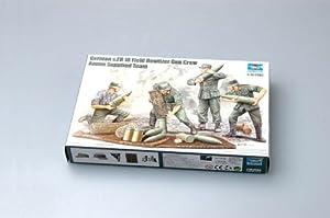 Trumpeter 426 - Figuras de Soldados alemanas Cargando obuses Importado de Alemania